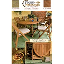 oval folding table and chairs