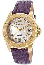Invicta Women's 18409 Angel Analog Display Swiss Quartz Purple Watch