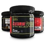 MAN Sports Glutamine Peptides, Glutamine Amino Acid Powder Supplement, Unflavored, 50 Servings, 100 Grams