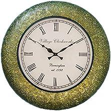 RoyalsCart Metal Analog Wall Clock