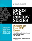 Multistate Bar Exam (MBE) Review Volume 2
