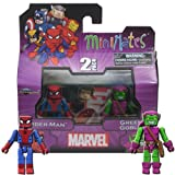 Marvel minimates - spiderman + green goblin