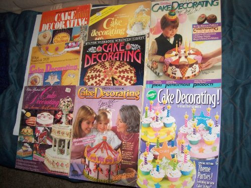 Wilton Cake Decorating Yearbooks 1979 - 2007 (8 Issues) at Amazon.com