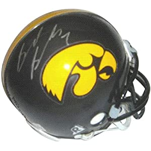 Brad Banks Autographed Iowa Hawkeyes Mini Helmet