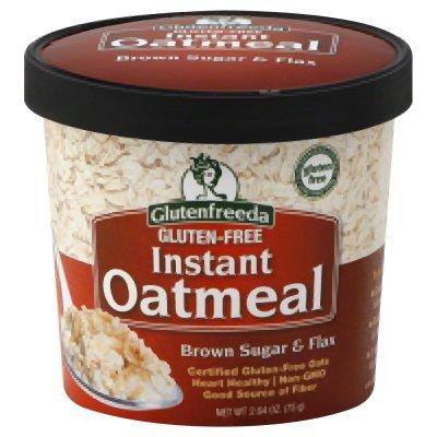 Instant Oatmeal - Brown Sugar & Flax 2.64 oz Pkg