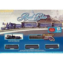Bachmann Royal Blue Ready To Run Electric Train Set N Scale