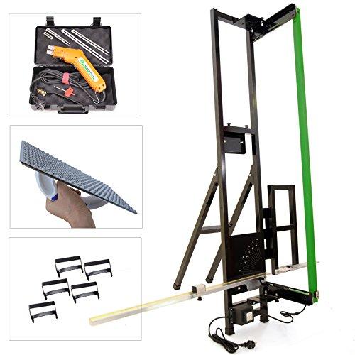 Pro Bauteam Styroporschneider Alucutter + Styropor-Handschneider Styrocutter + Schleifraspel + Styrogrips