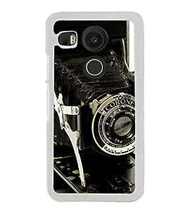 Vintage Camera 2D Hard Polycarbonate Designer Back Case Cover for LG Nexus 5X :: LG Google Nexus 5X New