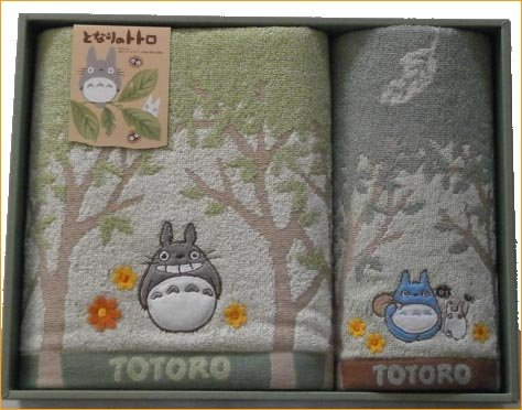 Ghibli my Neighbor Totoro toolset = 3000 Yen = Totoro towel gift set boxed 内 祝 I * baby gifts and gift please = baby products