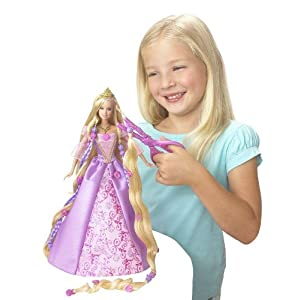 Barbie Hair  Games on Rapunzel Barbie Dolls On Sale   Collectors