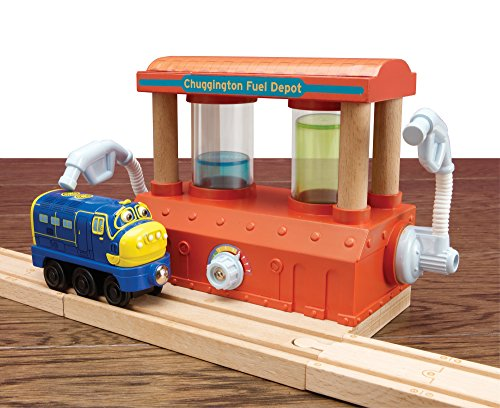 Chuggington Wooden Railway Fuel Depot