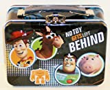 Disney Pixar Toy Story No Toy Gets Left Behind Small Embossed Lunch Box Tin/ Carry-all