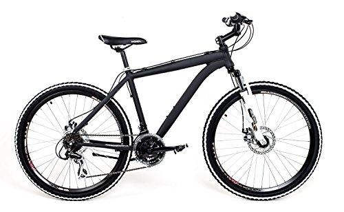 26-Zoll-Alu-MTB-Cross-Fahrrad-Bike-SHIMANO-24-Gang-DISC-SCHEIBENBREMSEN-schwarz