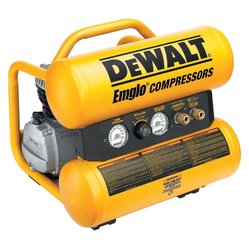 DEWALT D55152  15 Amp 2-3/4-Horsepower 4-Gallon Oiled Twin Hot Dog Compressor