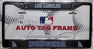 Amazon Com Los Angeles Dodgers La Black Metal New Design
