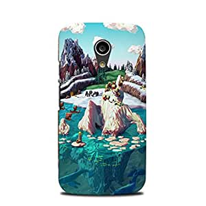 Moto G2 (2nd Generation) designer case & cover printed mobile cover Dream land