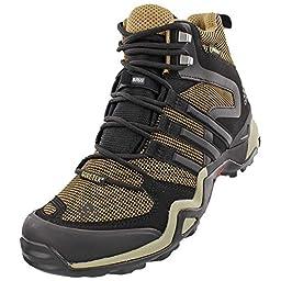 Adidas Outdoor Terrex Fast X High GTX Hiking Boot - Women\'s Cardboard/Black/Tech Beige, 9.5
