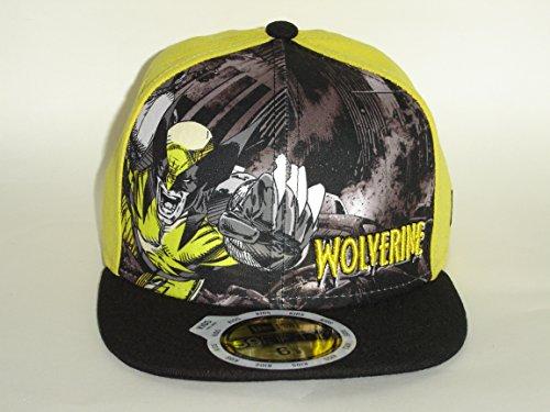 New Era Wolverine JR Youth AFrame Hero Gold Out Marvel Cap 5