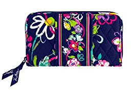 Vera Bradley Accordion Wallet in Ribbons