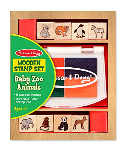 Melissa & Doug Baby Zoo Animals Stamp Set - 1