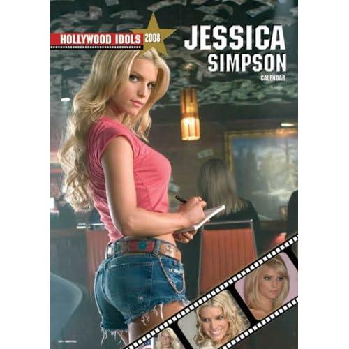 Jessica Simpson 2008 Calendar - Celebrity 2008 Calendars