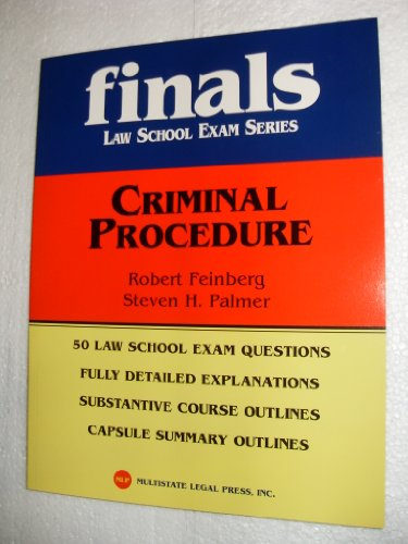 Kaplan Pmbr Criminal Procedure 2005 Edition (Finals Law School Exam Series)