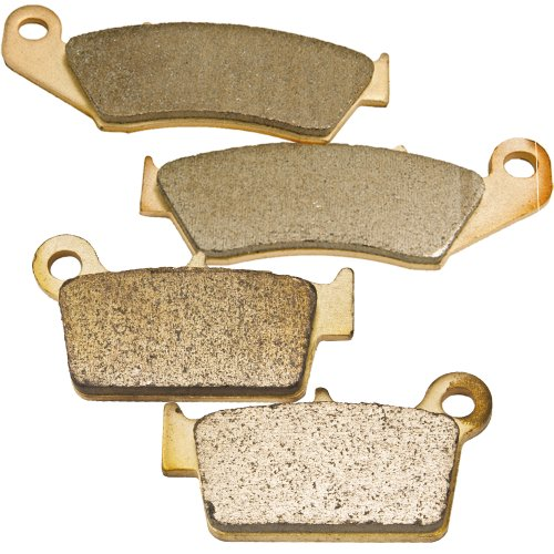 2005-2011 SUZUKI RM-Z 450 Front and Rear Sintered Brake Pads (06 Rmz 450 Parts compare prices)
