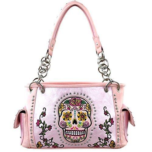 montana-west-zuckerschadel-sammlung-handtasche-rosa