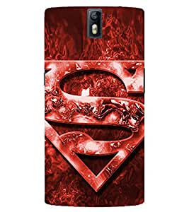Evaluze superhero Printed Back Case Cover for ONE PLUS ONE