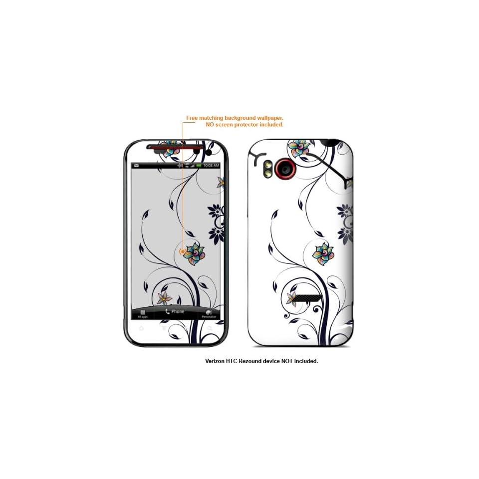 Protective Decal Skin Sticker for HTC Rezound 4G (Verizon Model) case cover rezound 226