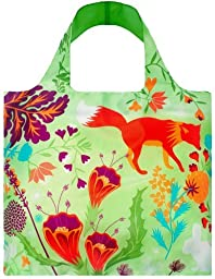 LOQI Forest Fox Reusable Shopping Bag, Multicolor by LOQI