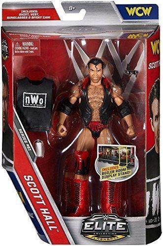 WWE Série Elite 51 Wrestling Figurine D'Action - Scott Hall Avec/ nWo &Étrangers Accessoires
