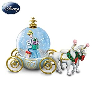 Disney Miniature Cinderella Snowglobe: A Party For A Princess by The Bradford Exchange from The Bradford Exchange