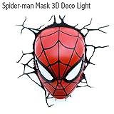 3D Light FX 【SPIDER-MAN】アルティメットスパイダーマン マスク型ライト <3Dデコライト>