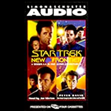 Star Trek, New Frontier: Books 1-4 (       ABRIDGED) by Peter David, John J. Ordover Narrated by Joe Morton