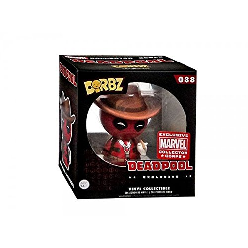 Funko - Figurine Marvel Collector Corps - Deadpool Cowboy Exclusive Dorbz 8cm - 0635231875815