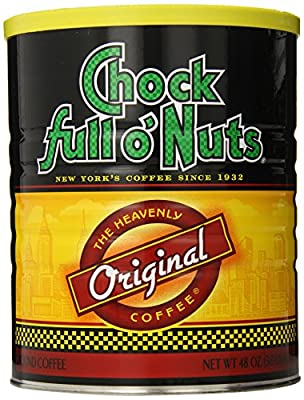 Chock Full O Nuts Ground Coffee, Original Blend, 48 Ounce from Chock Full O Nuts