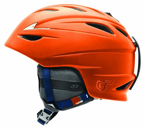 GIRO Helm G10, matte orange, 52-55.5
