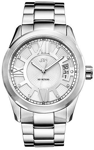 JBW Reloj Bond Plateado Única
