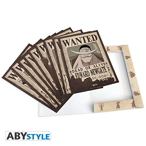 AbyStyle - Portfolio One Piece - Portfolio 9 Posters Wanted Personnages Vol.2 (21x29,7cm) - 3700789215127