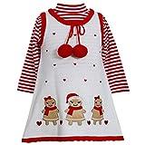 Bonnie Jean Baby-girls Gingerbread Holiday Jumper Dress Set