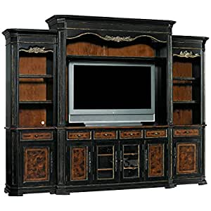 Hooker furniture grandover home theater entertainment center Home theater furniture amazon