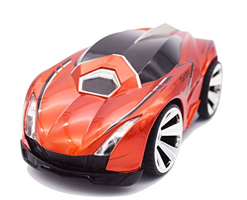 RushGo Rechargeable Voice Control Car,Command by Smart Watch,Creative Voice-activated Remote Control RC Car(Orange)