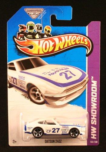 Hot Wheels HW Showroom Datsun 240z White #159/250 (Super Treasure Hunt Datsun compare prices)