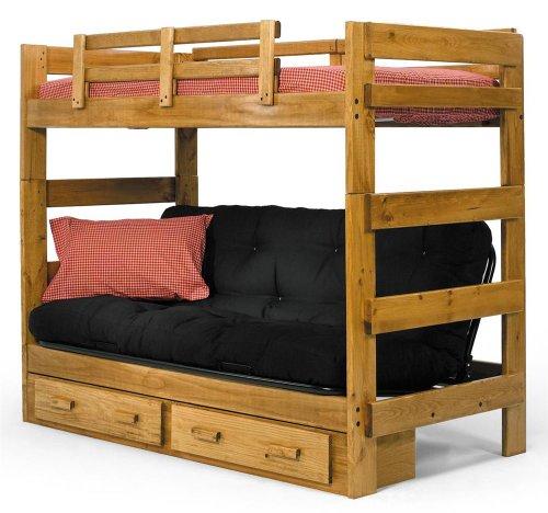 Loft Bunk Beds For Kids 9680 front