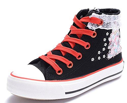 D.s.mor Girls Toddler Little Kid Lace Deco Childrens Shoes K