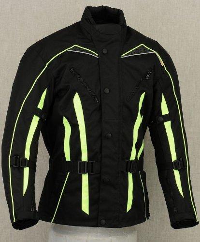 Gx96 Hivis - Blouson de moto imperméable pour homme - Taille XXL