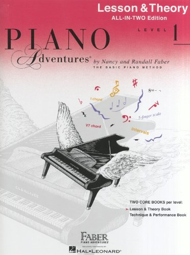 Piano Adventures: Lesson and Theory Book - Level 1 (Faber Piano Adventures)