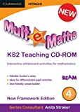 img - for Mult-e-Maths Teaching CD-ROM 4: New Framework Edition book / textbook / text book