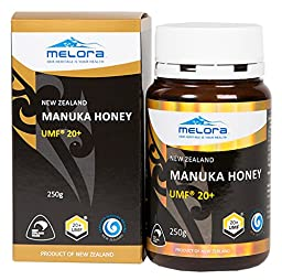 Melora UMF 20+ Manuka Honey, 250g (8.8z)